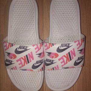 Women's Nike Slides.